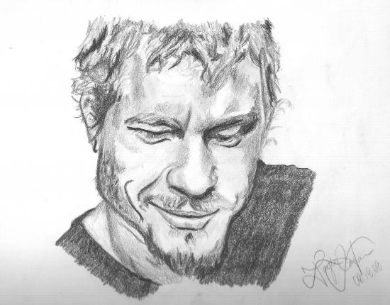 Heath Ledger by taylorr